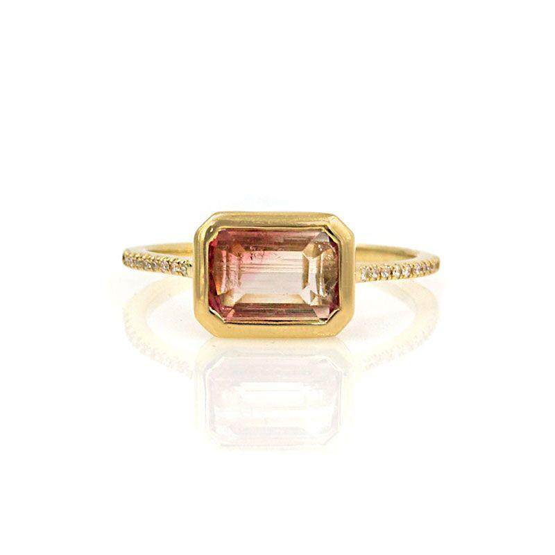 Sundown Tourmaline Ring