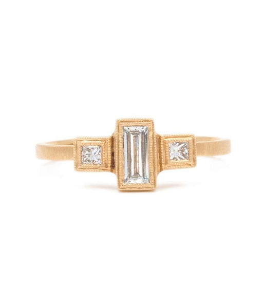 Diamond Blockette Ring - LoveAudryRose.com