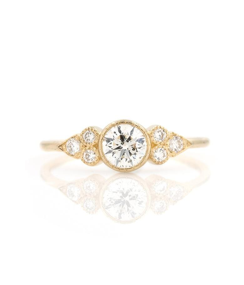 Diamond Clusters Ring