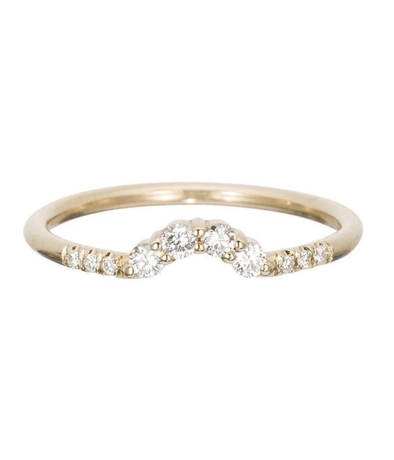 Diamond Arch Ring