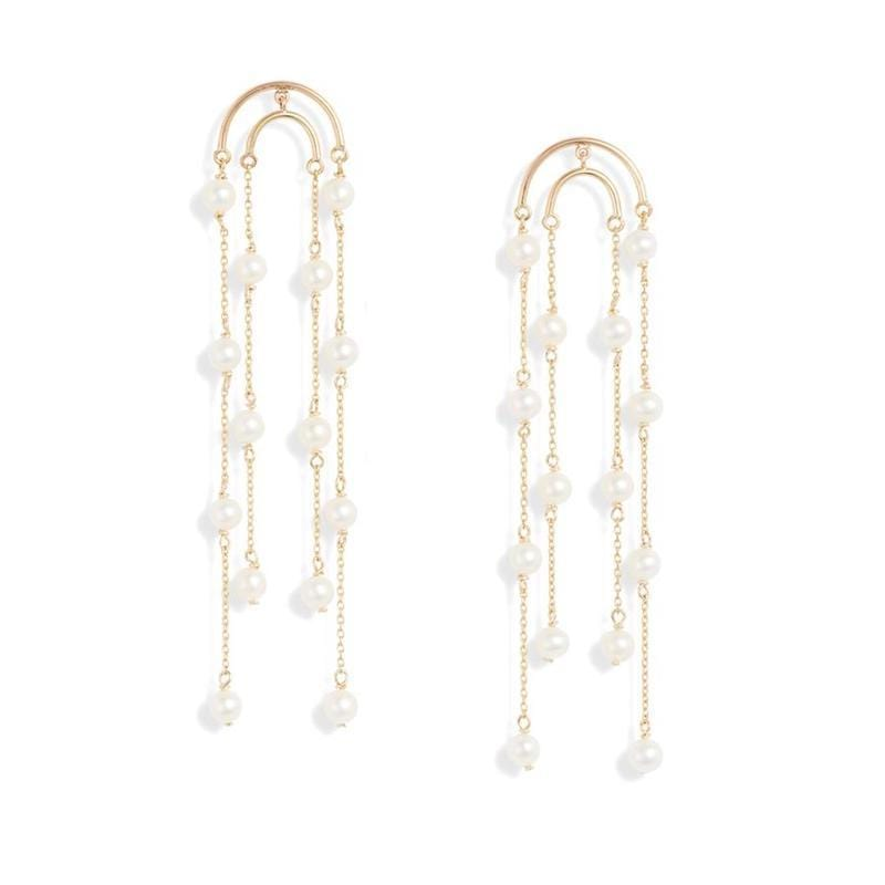 Pearl Dew Drop Earrings - LoveAudryRose.com