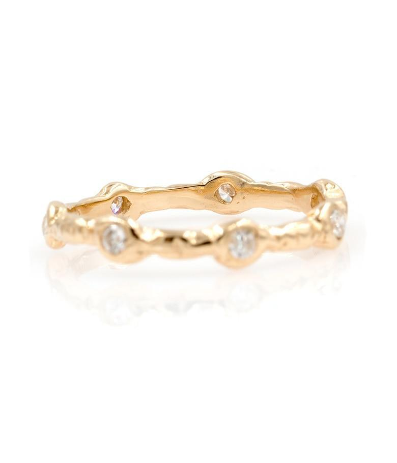 Diamond Eternity Love band