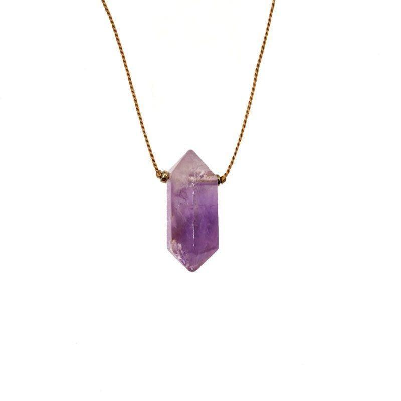 Large Amethyst Vibe Necklace - LoveAudryRose.com