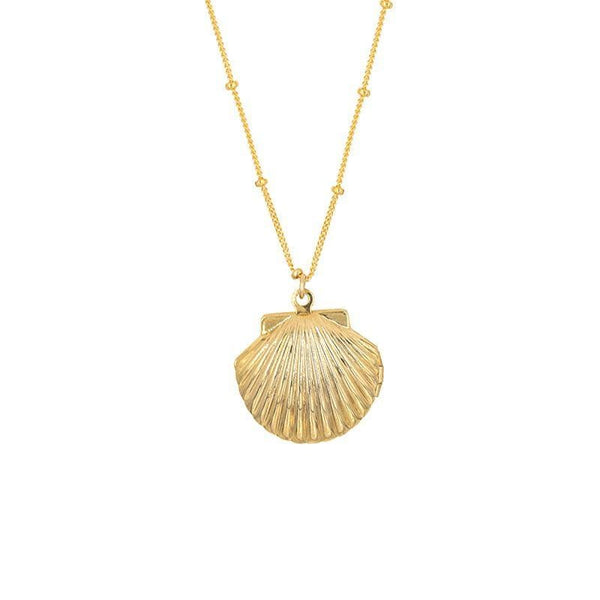 Seashell Locket - LoveAudryRose.com