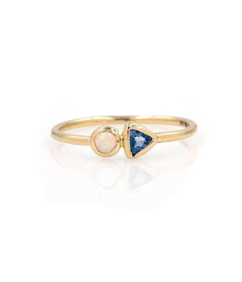 Opal & Sapphire Band - LoveAudryRose.com