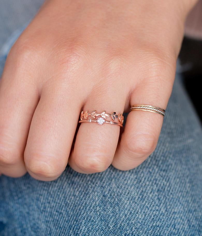 Sparkly Diamond Ring