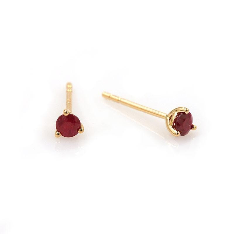 Ruby Slipper Studs