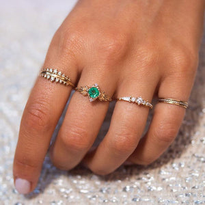 Spirit of the Forest Emerald Ring