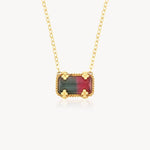 18k Color Duo Tourmaline Necklace