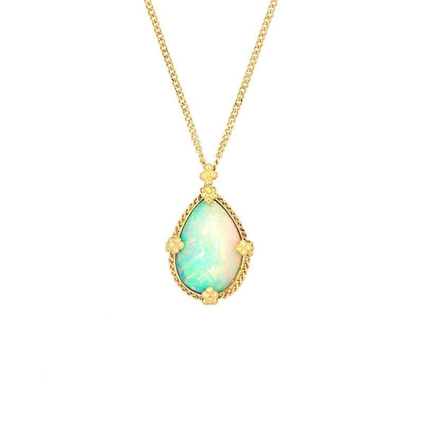 18k Tranquil Awakening Opal Necklace
