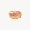 18k Sparkling Rosé Morganite Ring