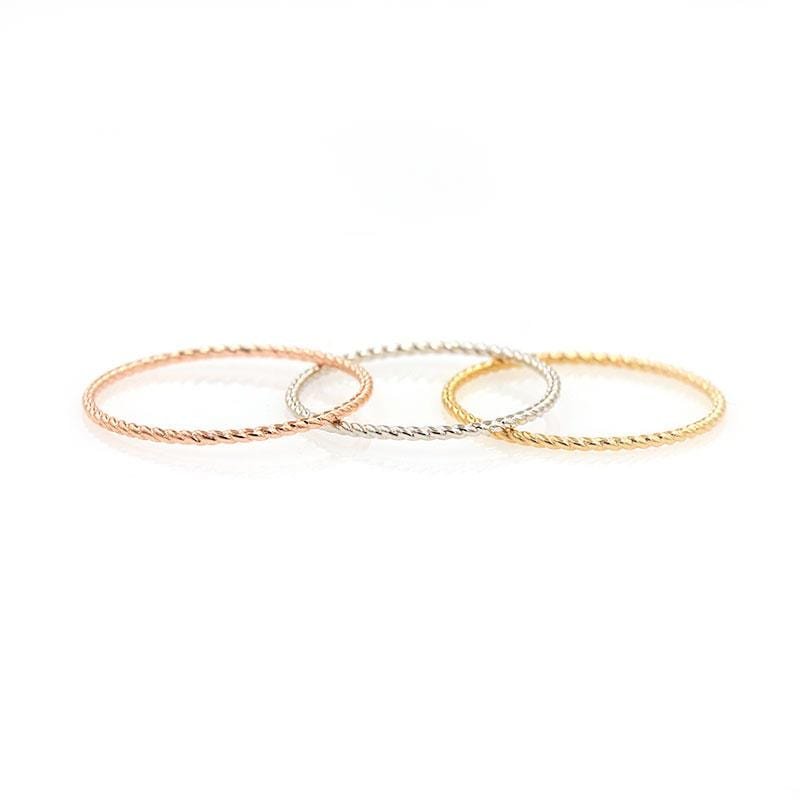Dainty Twist Ring