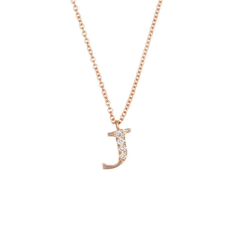Diamond Initial Necklace*** - LoveAudryRose.com