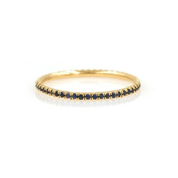 Sapphire Eternity Band - LoveAudryRose.com