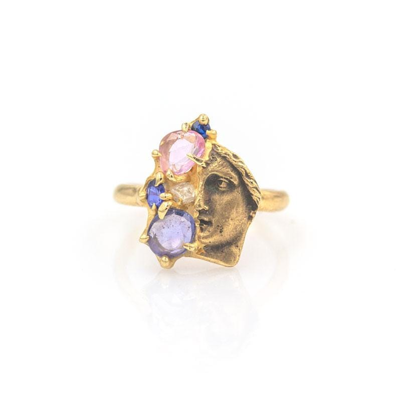 Aster Sapphire Ring