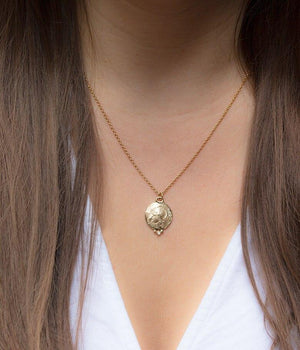 Warrior Coin Necklace