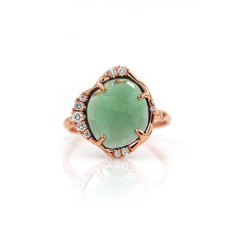 Starlit Forest Tourmaline Ring