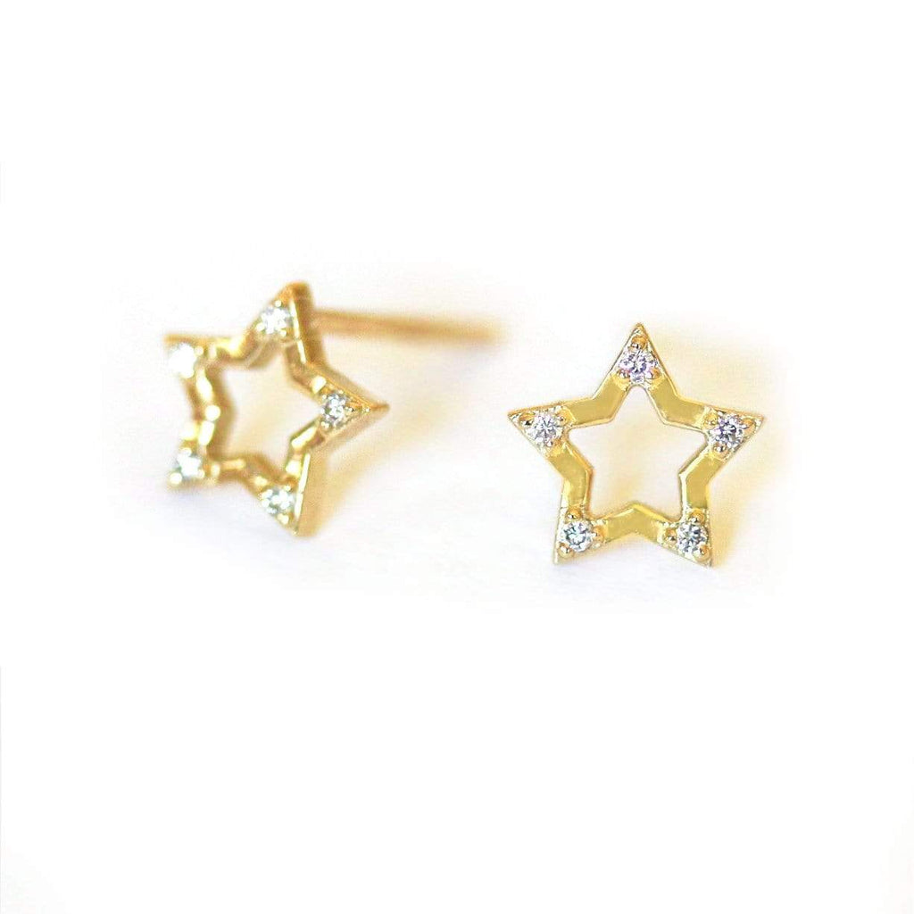 Diamond Star Studs - LoveAudryRose.com