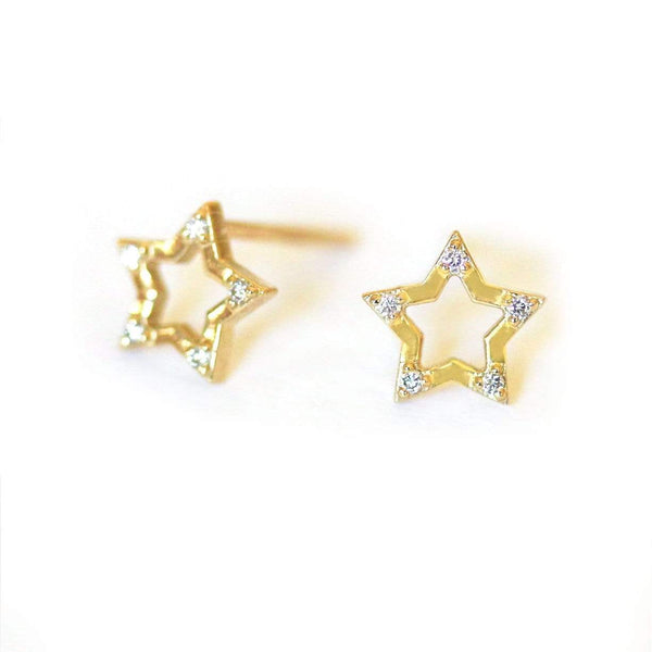 Diamond Star Studs*** - LoveAudryRose.com