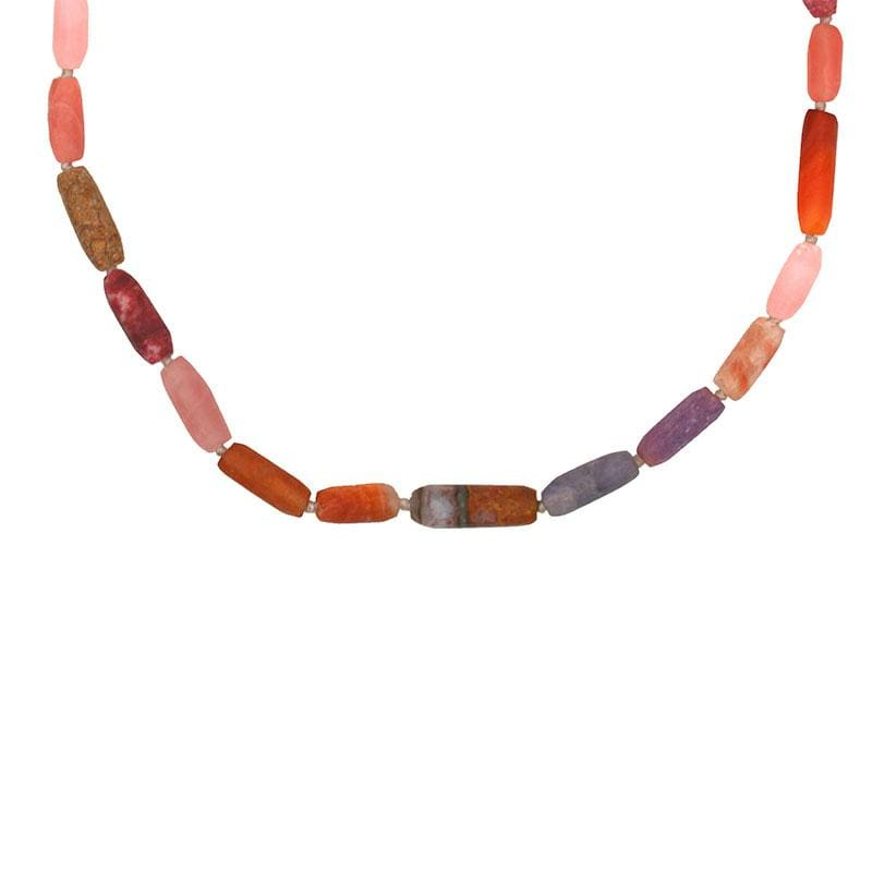 Fire Gemstone Beaded Necklace*** - LoveAudryRose.com