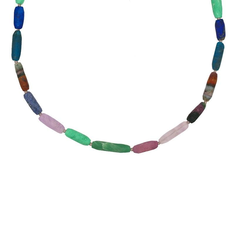 Earth Gemstone Beaded Necklace* - LoveAudryRose.com