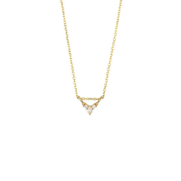 Diamond Triad Necklace - LoveAudryRose.com