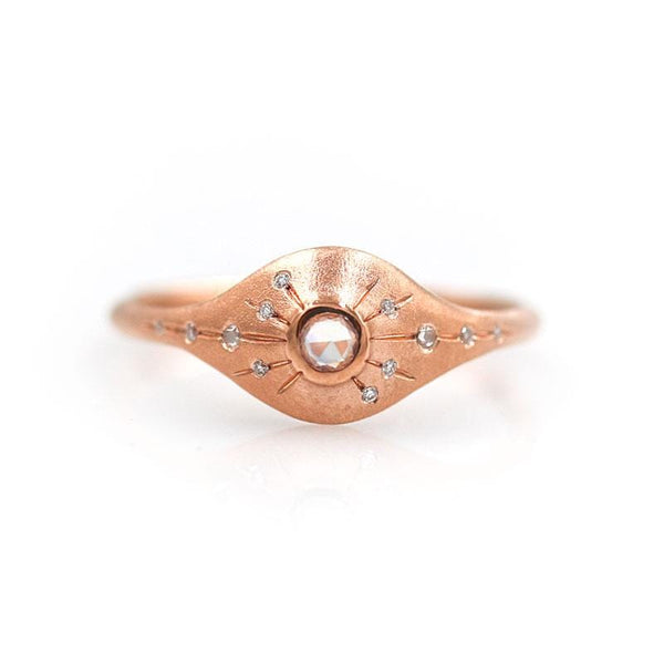 Shooting Star Sapphire Ring - LoveAudryRose.com