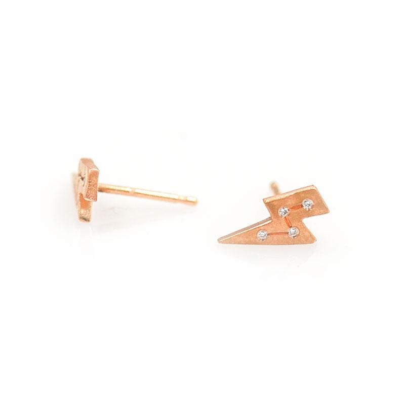 Electric Diamond Studs - LoveAudryRose.com