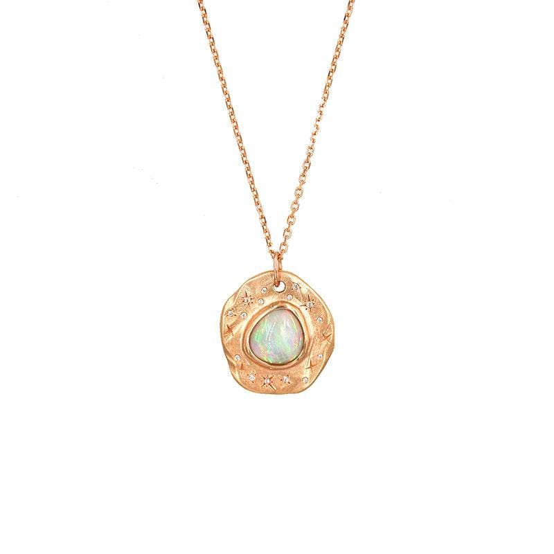Star Studded Opal Necklace* - LoveAudryRose.com