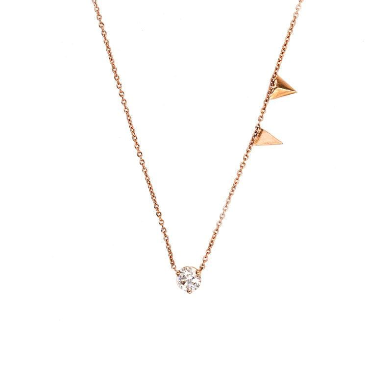 Tri Me Diamond Necklace