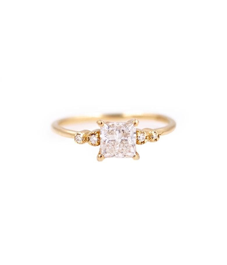Juliet Princess Cut Diamond Ring - LoveAudryRose.com