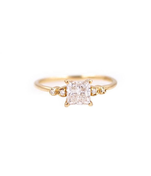 Juliet Princess Cut Diamond Ring* - LoveAudryRose.com