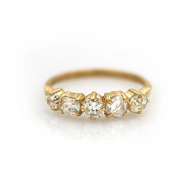 18k Diamond Band - LoveAudryRose.com