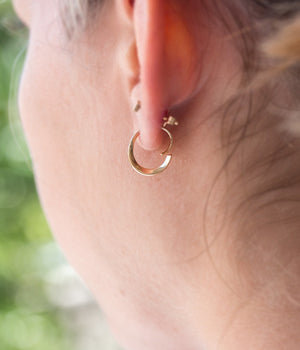 Loop Through Hoop Earrings