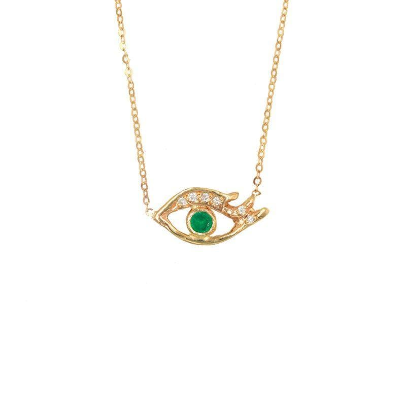 Emerald Eye Necklace - LoveAudryRose.com