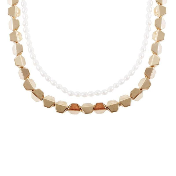 Layered Pearl Necklace - LoveAudryRose.com