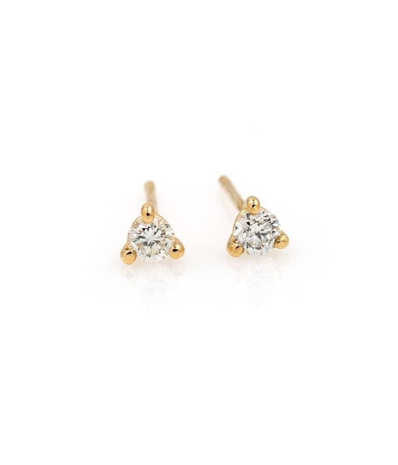 Martini Diamond Studs - LoveAudryRose.com