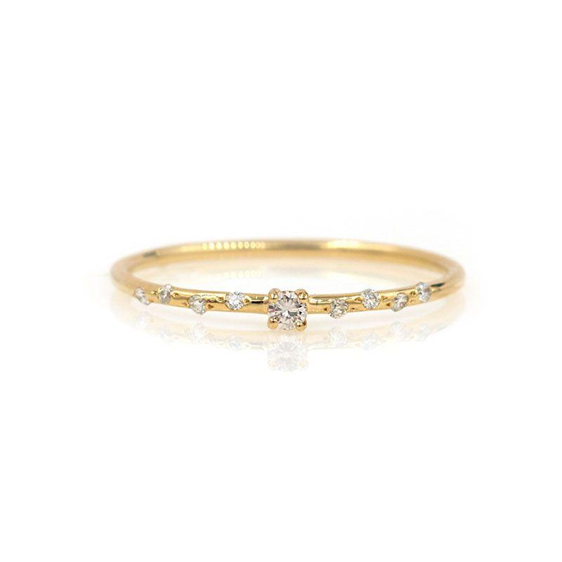 Dainty Starry Solitaire*** - LoveAudryRose.com