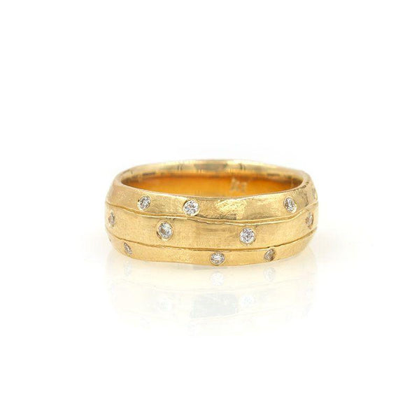 Wide Diamond Chisel Band*** - LoveAudryRose.com
