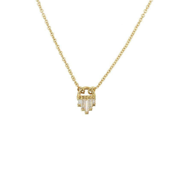 Art Deco Diamond Necklace - LoveAudryRose.com