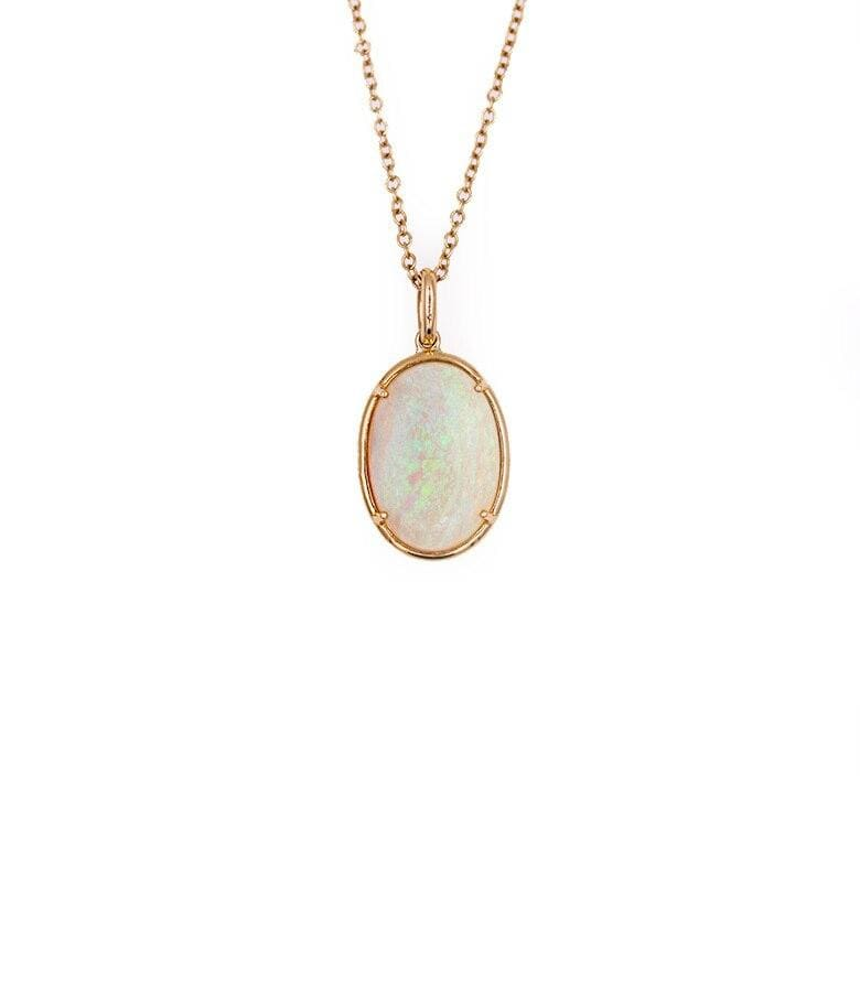 Large Opal Necklace