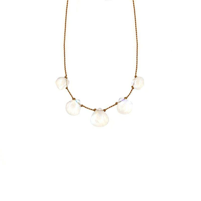Rainbow Moonstone Vibe 5 Necklace - LoveAudryRose.com