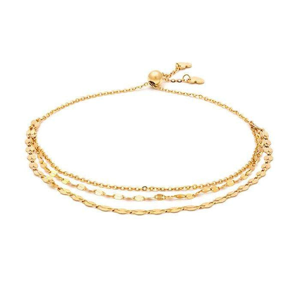 Three Chain Shimmer Bracelet - LoveAudryRose.com