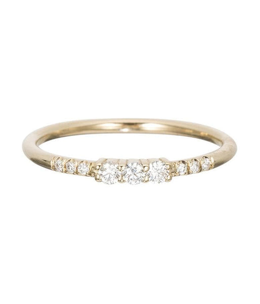 Triple Diamond Ring - LoveAudryRose.com