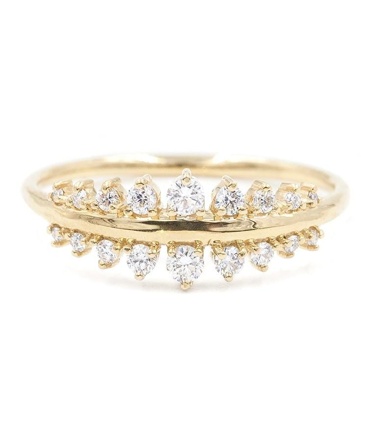 Double Diamond Tapering Band - LoveAudryRose.com