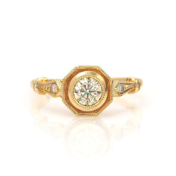 Diamond Capsule Ring - LoveAudryRose.com