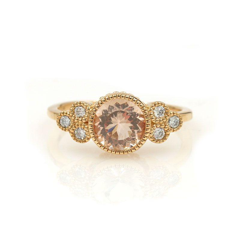 Morganite Cluster Elevate*** - LoveAudryRose.com