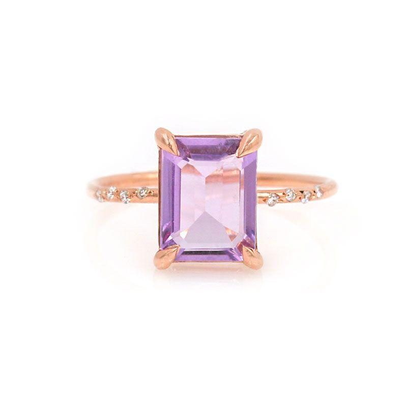 Starry Amethyst Ring - LoveAudryRose.com