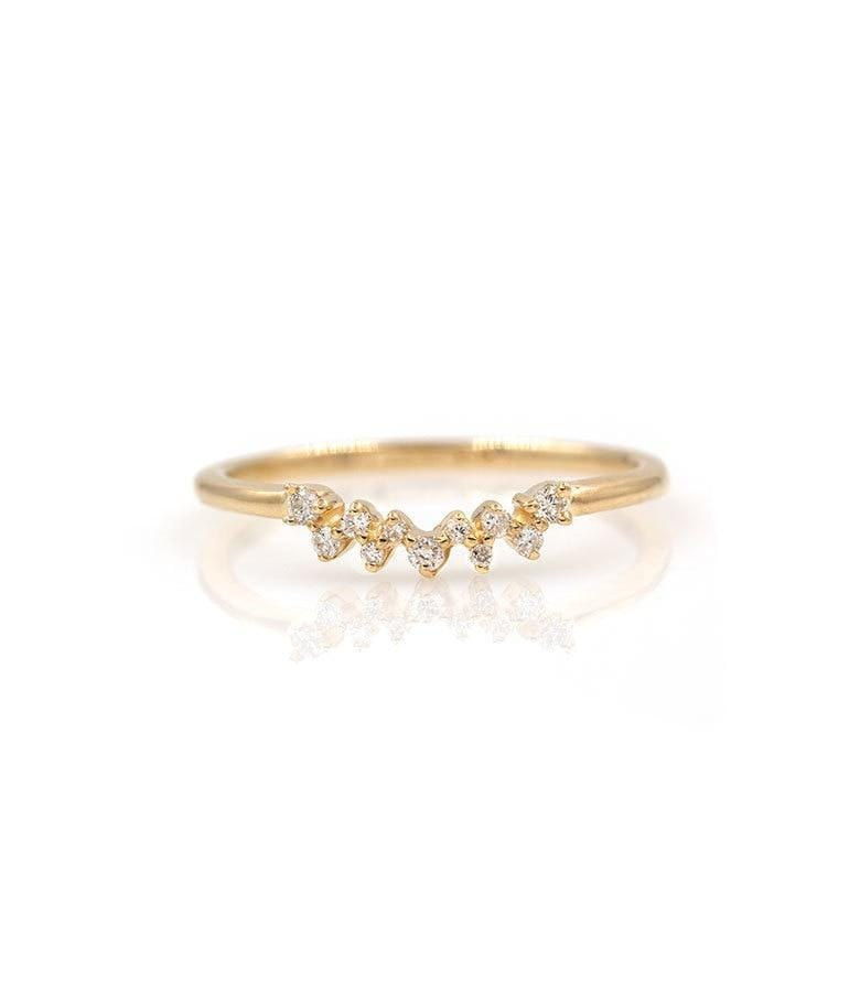 Cluster Crown Ring