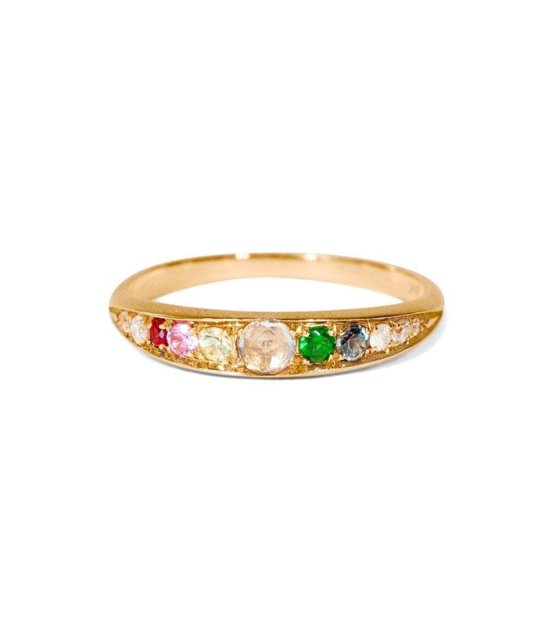 Arcus Gemstone Ring